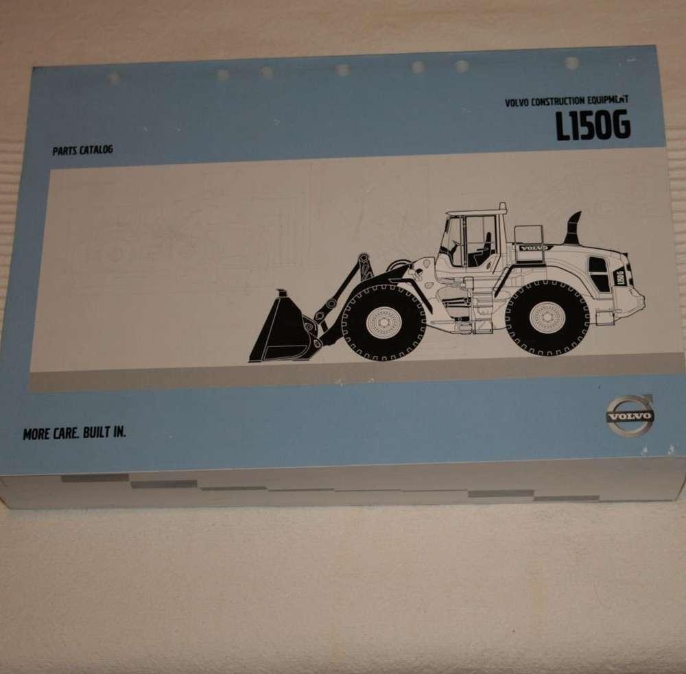 Volvo L150G parts catalog - piezas-recambio wheel loader